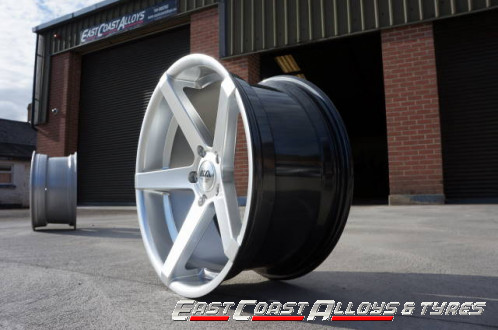 "AVA Miami 19"" alloy wheel - side picture"