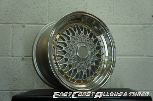 "15"" BSX alloy wheels"