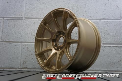 Axe EX8 alloy wheel gold