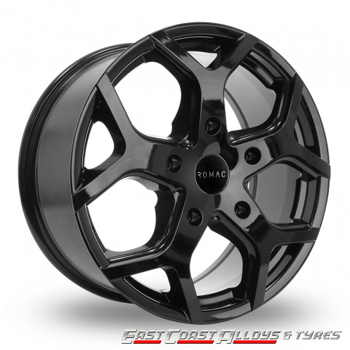 "ROMAC COBRA 16"" BLACK VAN ALLOY"