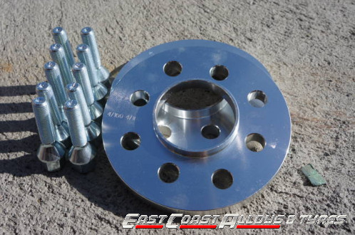 Alloy wheel spacer kit 16mm Audi A5, A4 08-up
