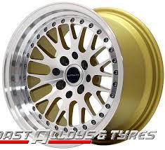 Ultralite UL10 Gold Alloy wheel