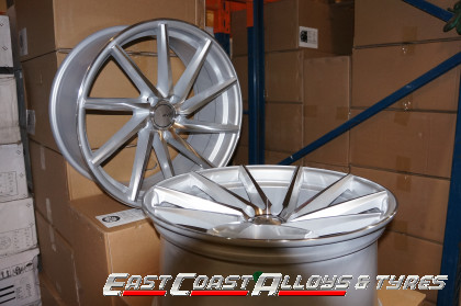 Directional Alloy Wheel polished