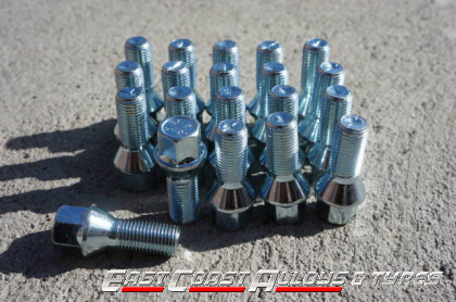 Alloy Wheel Bolt M14x1.5-17mmHex-28mm