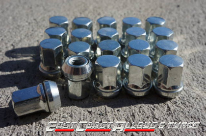 Alloy wheel variable nuts 1.5