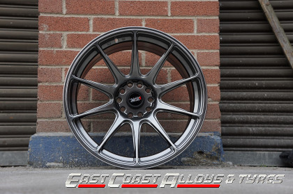 xxr 527 cromium black alloy wheel