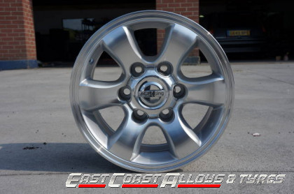 "15"" alloy wheel fits Hi Ace front pic"
