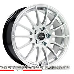 "fox fx004 15"" alloy wheels"