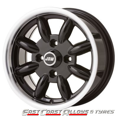 MINILIGHT SUPERLIGHT ALLOY WHEEL IN BLACK