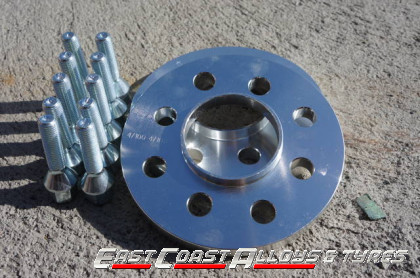 Alloy wheel spacers 20mm Audi A5-A4 08-up