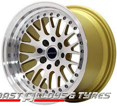 Ultralite UL10 Gold Alloy wheel