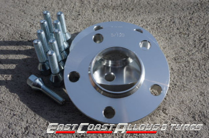 Alloy wheel spacer to fit BMW cars + bolts