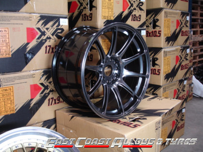 XXR 527 CHROME BLACK ALLOY WHEEL