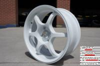 """image of 16"""" white alloy wheel"""