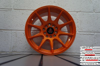 AXE EX8 alloy wheels front pic