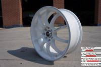 STR219 white alloy wheels