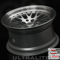 ULTRALITE UL10 Silver alloy wheel